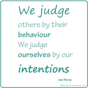 We judge