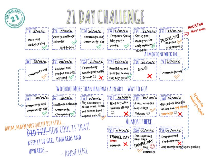 21 calendar final