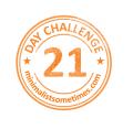 21 DAY declutter challenge logo 70